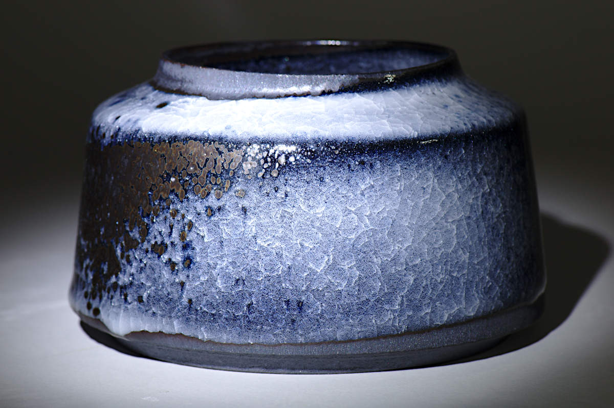 Lidded Container Black Ice