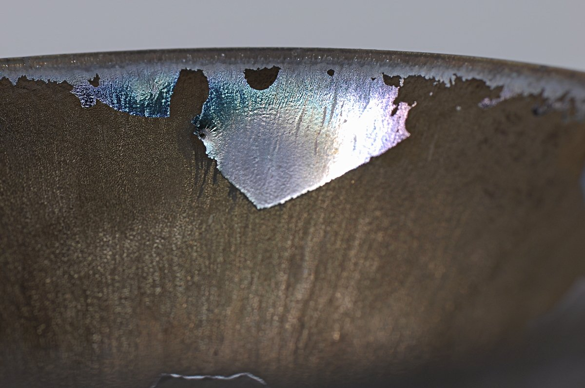 Cone Cup Glaze Detail
